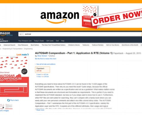 amazon screenshot AUTOSAR compendium, Part 1